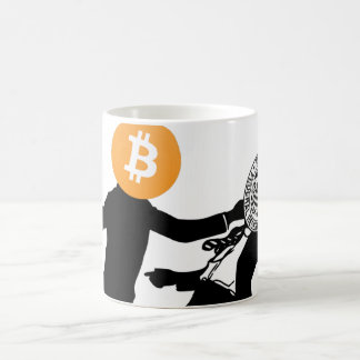 Bitcoin will Knock Out Inflation Mug