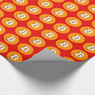 """""""BITCOIN"""" WRAPPING PAPER"""