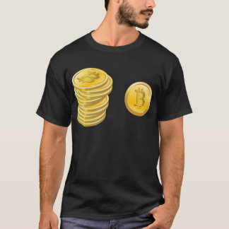 Bitcoins Stacked T-Shirt
