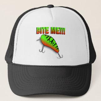 Bite Me Bass Lure Trucker Hat