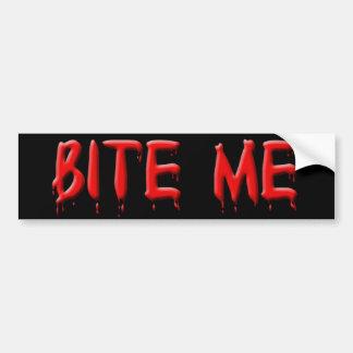 Bite Me Bumper Sticker