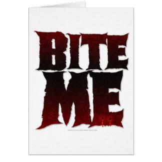 bite me card