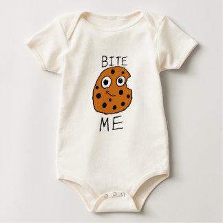 Bite Me Cookie Baby Bodysuit