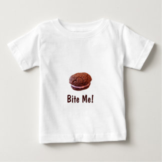 """Bite Me!"" Cookie Baby T-Shirt"