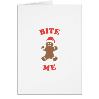 Bite Me Cookie Card
