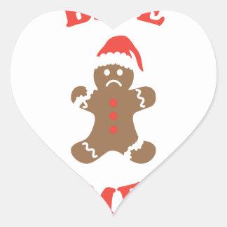 Bite Me Cookie Heart Sticker