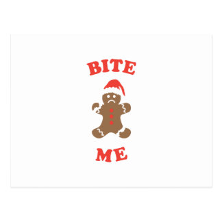 Bite Me Cookie Postcard
