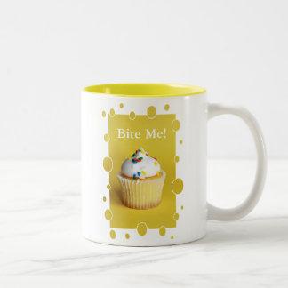 Bite Me! Cupcake Mug