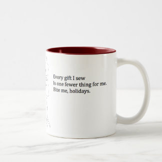 """Bite Me Holidays"" Holiday Mug"