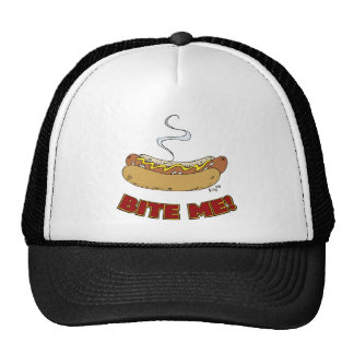 Bite Me - Hot Dog Hats