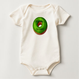 Bite Me - I'm Irish Onesey-Creeper Baby Bodysuit