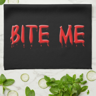 Bite Me Kitchen Towel