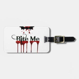 Bite Me Luggage Tag