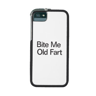 Bite Me Old Fart iPhone 5/5S Cover