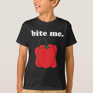 bite me. (red bell pepper) T-Shirt