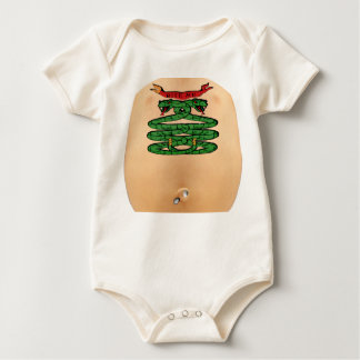 "'BITE ME"" TATTOO & PIERCING BABY BODYSUIT"
