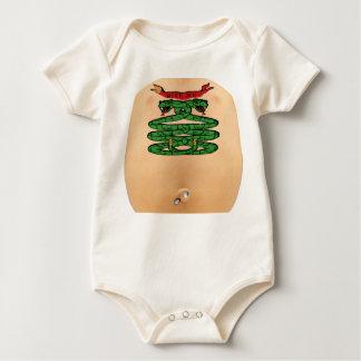 "'BITE ME"" TATTOO & PIERCING BABY BODYSUIT"
