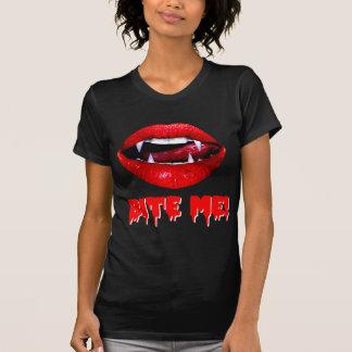 Bite Me Vampire Halloween Tee Shirts