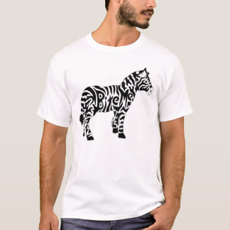 Bite Me Zebra T-Shirt