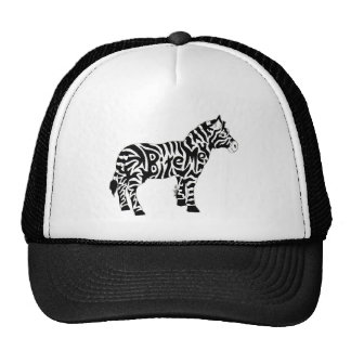 Bite Me Zebra Trucker Hat