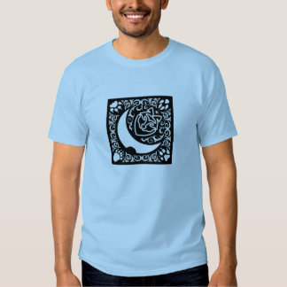 Bite of the Moon Shirt in Blue