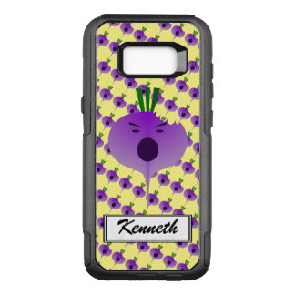 Bite The Angry Turnip by Kenneth Yoncich OtterBox Commuter Samsung Galaxy S8+ Case