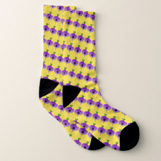 Bite The Angry Turnip by Kenneth Yoncich Socks