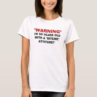 BITEME ATTITUDE t-shirt womens