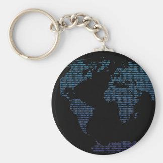 Bitmap Basic Round Button Keychain