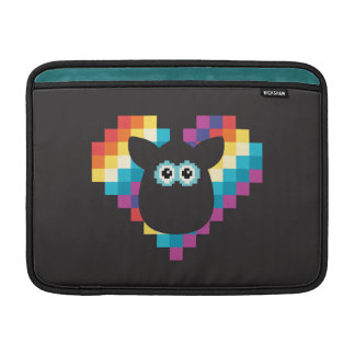 Bitmap Furby Heart MacBook Air Sleeve