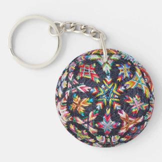 Bits Sakasa Temari Keychain, Acrylic Keychain