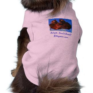 Bitsywoo Adopt Don't Breed Pet Shirt