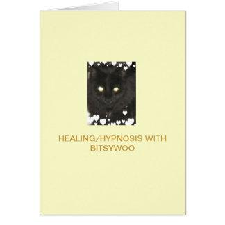 Bitsywoo Healing/Hypnosis Greeting Card