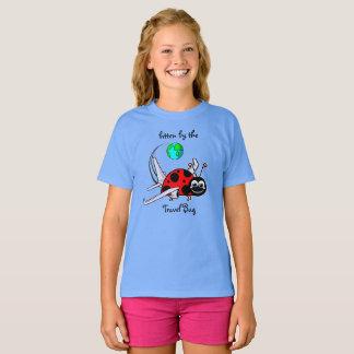 Bitten By The Travel Bug - Ladybug Airplane T-Shirt