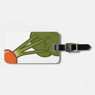 Bitten Carrot Luggage Tag