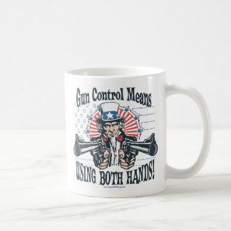 Bitter, Clingy Gun-Toting Uncle Sam Mug