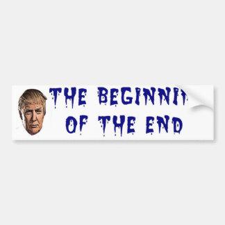 Bitter End Bumper Sticker