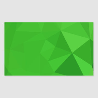 Bitter Lemon Green Abstract Low Polygon Background