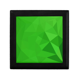 Bitter Lemon Green Abstract Low Polygon Background Gift Box