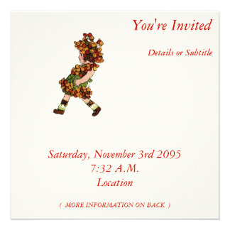 Bitter-Sweet Personalized Invitation