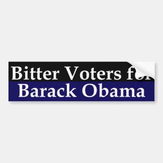 Bitter Voters for Barack Obama Bumper Sticker