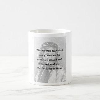 Bitterest of Tears - Harriet Beecher Stowe Coffee Mug