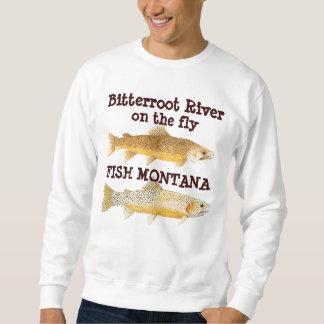 Bitterroot River on the Fly-Fish Montana Sweatshirt