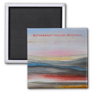 Bitterroot Valley Montana magnet