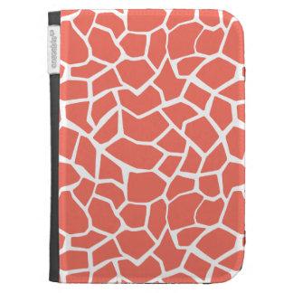 Bittersweet Color Giraffe Animal Print Case For Kindle