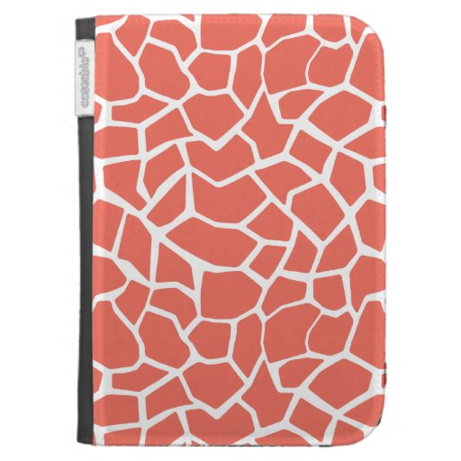 Bittersweet Color Giraffe Animal Print Case For Kindle