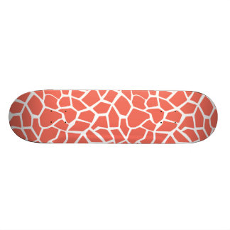 Bittersweet Color Giraffe Animal Print Skate Boards