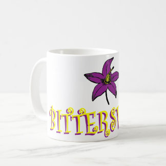 Bittersweet flower mug
