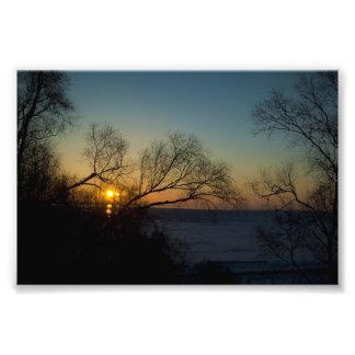 Bittersweet Sunset Photo Print