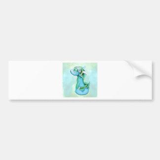 Bitty Water Dragon Bumper Sticker